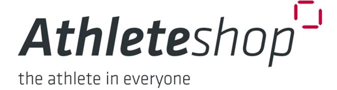 Das Logo von Athleteshop