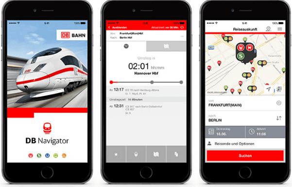 Deusche Bahn App und die Verfügbaren Optionen für Kunden