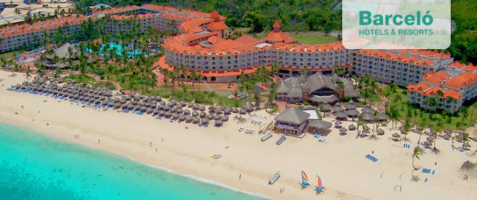 Das Barcelo Hotel am Sandstrand