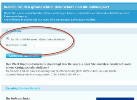 Gutschein-Code