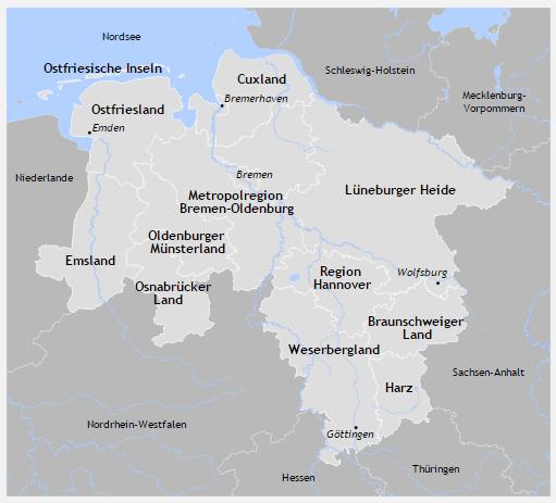 BestFewo.de Landkarte