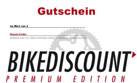 Bike Discount Gutschein