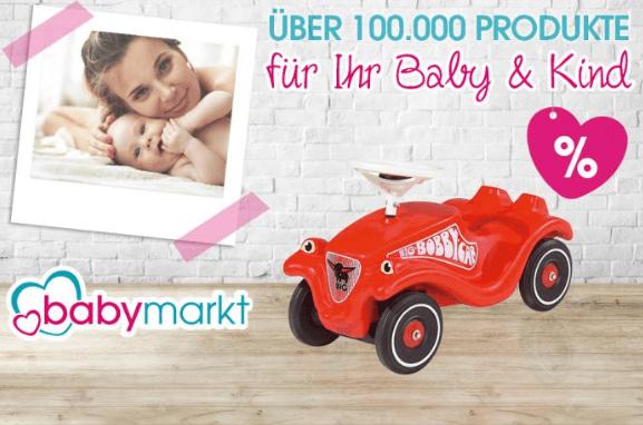 Ein rotes Auto für Kinder bei babymarkt