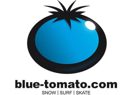 Das Logo von blue-tomato.com