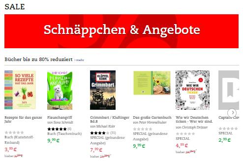 Ausverkauf bei Buch.de