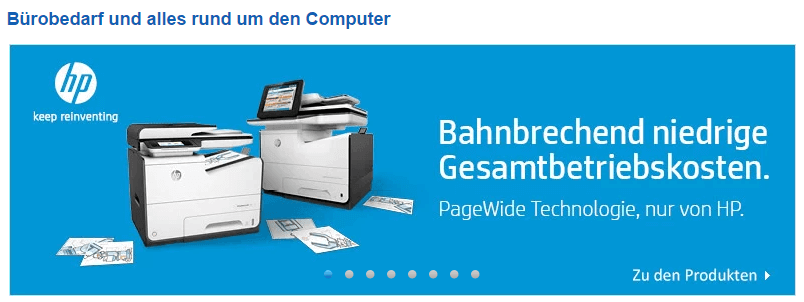 Ein Drucker bei coputeruniverse