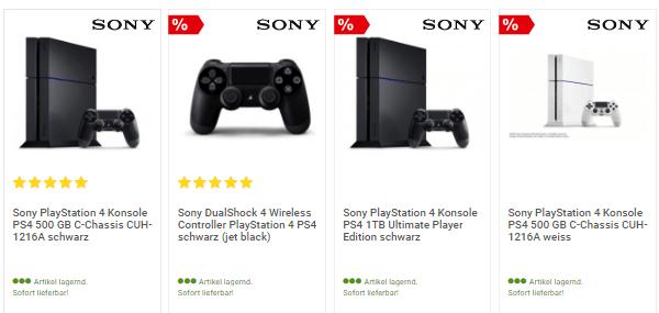 Playstation bei comtech