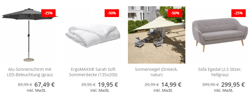 Die Deanisches Bettenlager Angebote