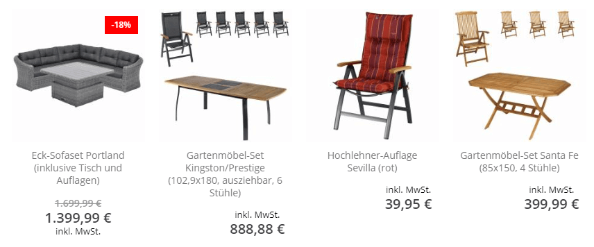 Möbel bei Deanisches Bettenlager