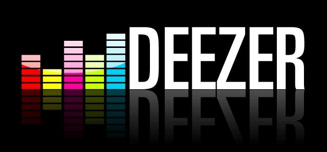 Das Logo von deezer