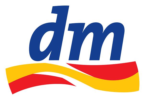 Das Logo von dm.de