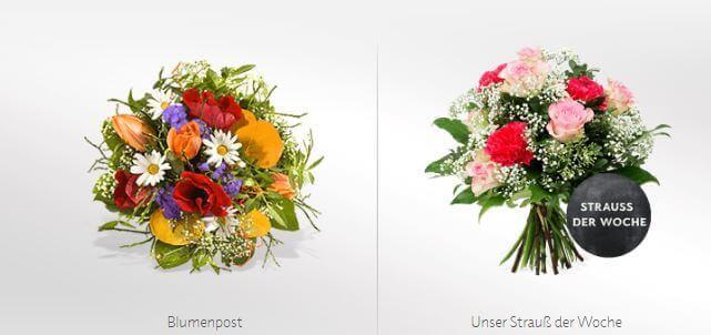 Blumenstrauß bei FLEUROP