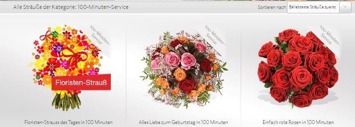 Blumen bei FLEUROP