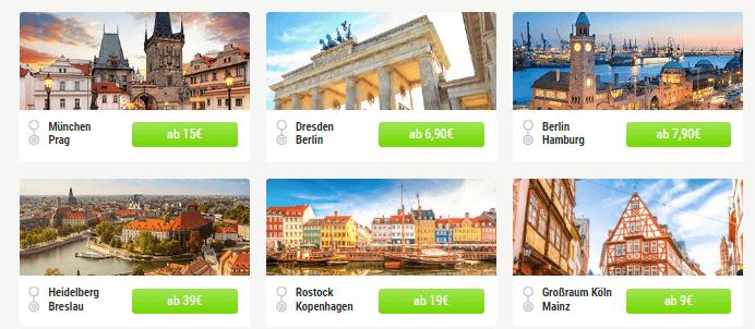 Reisen mit FlixBus