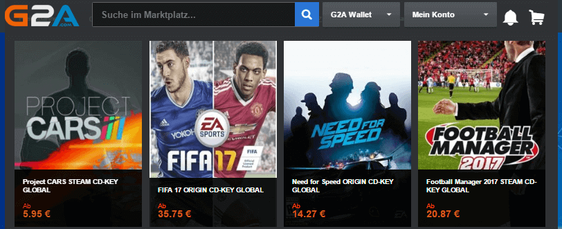 G2A - Sport Spiele