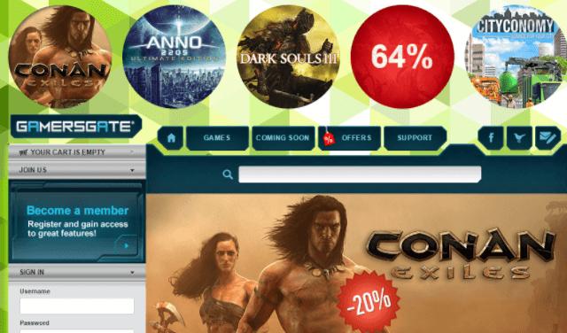 GamersGate Rabatt