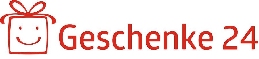 Das Logo der Firma geschenke24.de