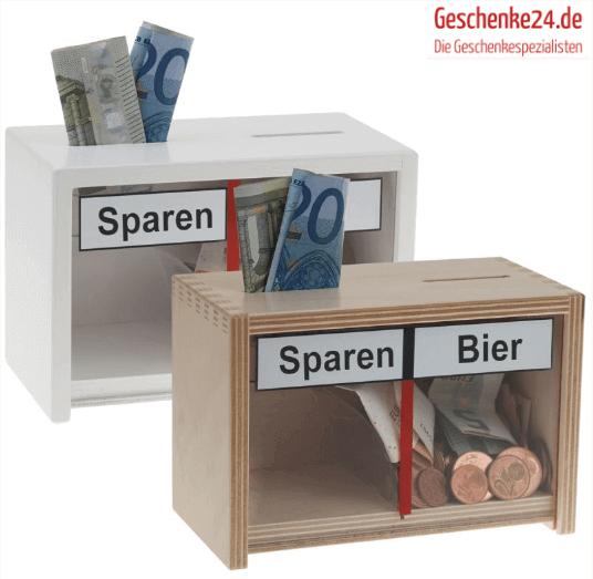 Sparschwein bei geschenke24.de