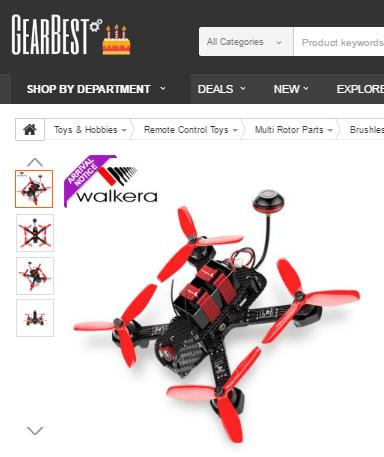 Drohne bei GearBest