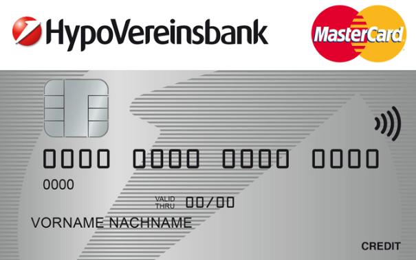 Eine HypoVereinsbank Kreditkarte