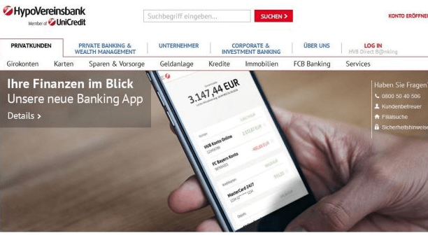 HypoVereinsbank App