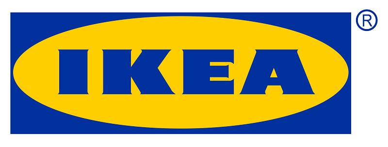 Das Logo von IKEA