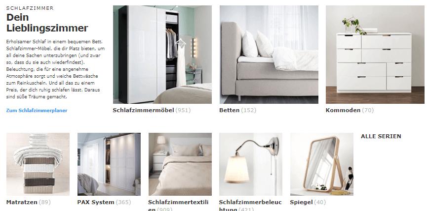 Produkte bei IKEA