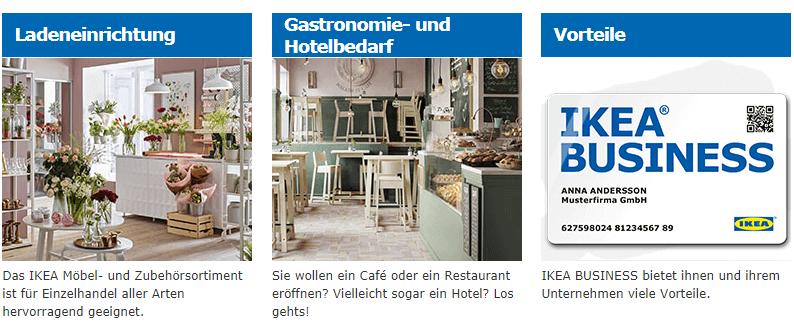 IKEA Business Karte