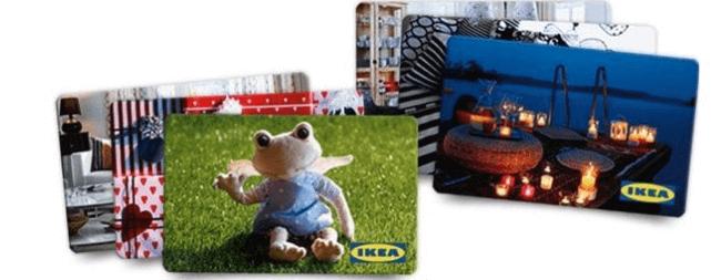 IKEA Gutscheinkarten