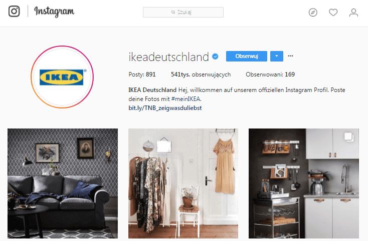 IKEA Instagram Profil