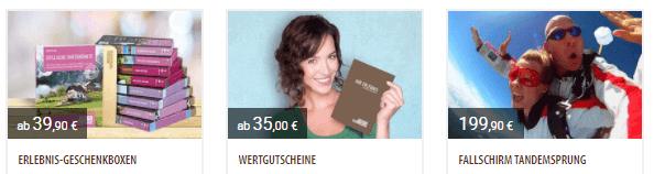Jochen Schweizer Angebot