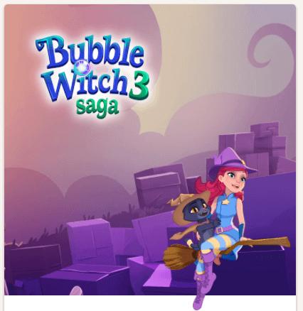 Bubble Witch 3 Saga bei King