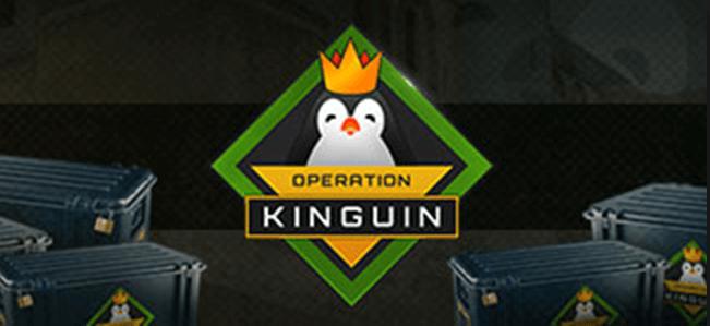 Kinguin Spiele und das Logo der Fima