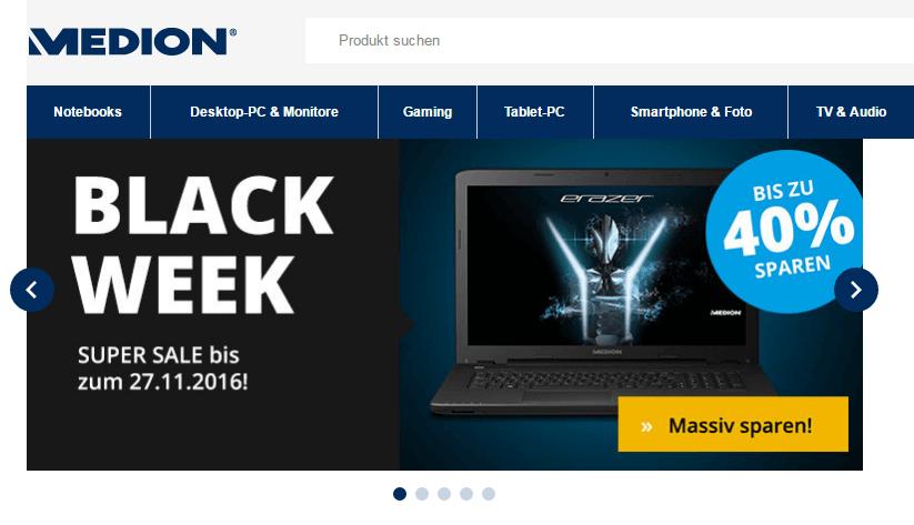 MEDION Laptop