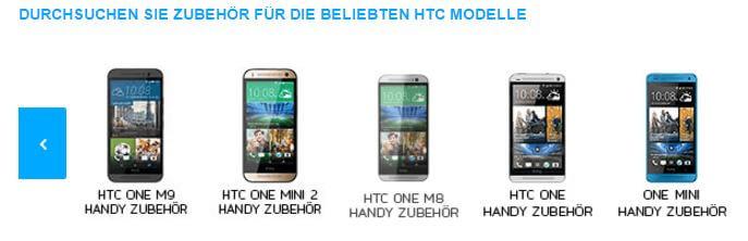 HTC bei MeinTrendyHandy