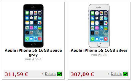 iPhone bei  millionstore