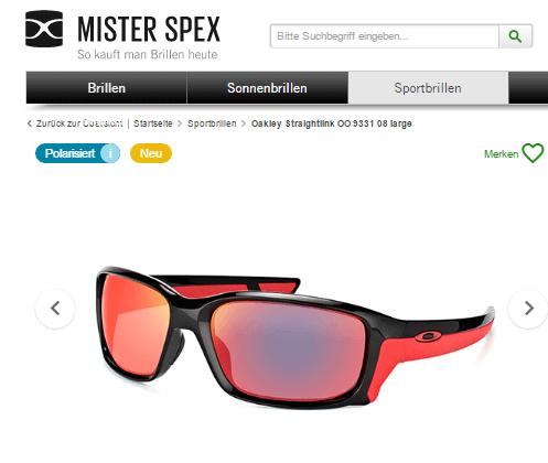 Sportbrillen Mister Spex