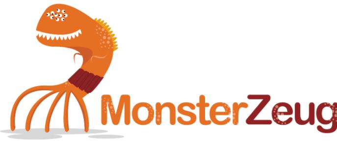 Das Logo von monsterzeug