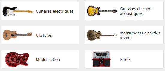 Guitares bei MUSIC STRORe