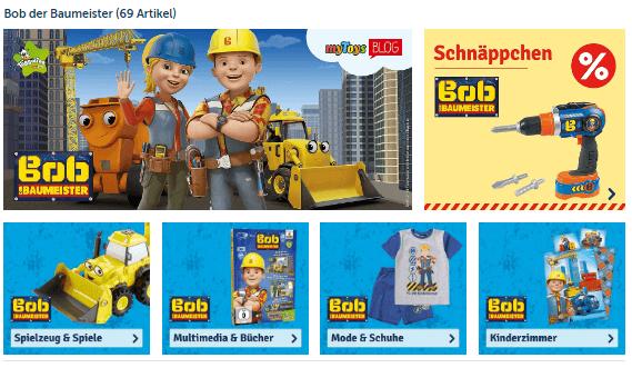 Bob der Baumeister - Spielsachen bei myToys