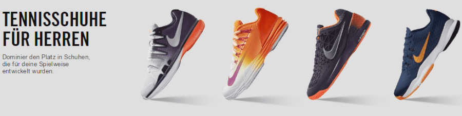 Sportliche Herrenschuhe der Marke Nike