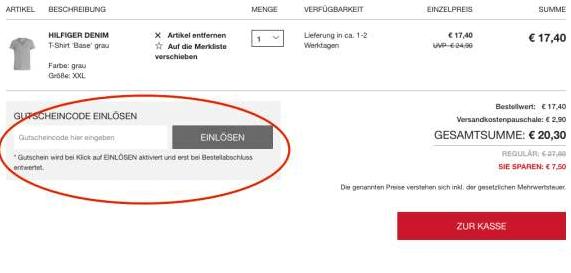 Outlet Metzingen Gutscheincode