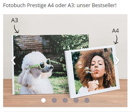 Photobuch bei photobox
