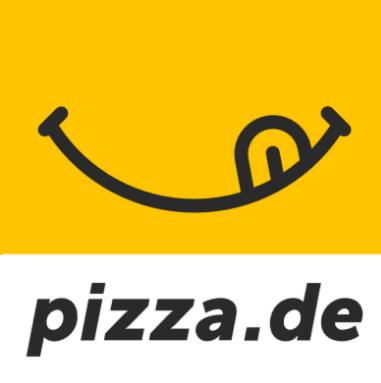 Das Logo von pizza.de