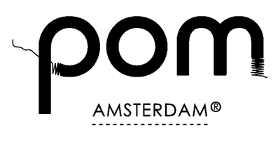 Das Logo von POM Amsterdam