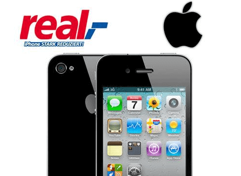 iPhone bei real