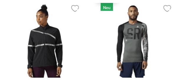 Kleidung bei Reebok