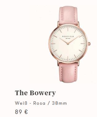 Armbanduhr  bei ROSEFIELD