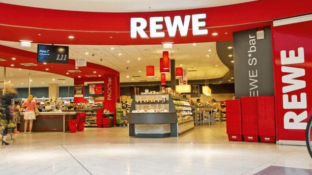 Das Geschäft REWE