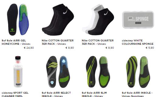 Das Zubehör zum Kauf der Schuhe der bekanntesten Marken